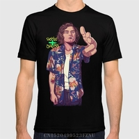 Spring The Price Of T Shirts Mens 80 90s Lrs Short O Neck Character Cotton 3d