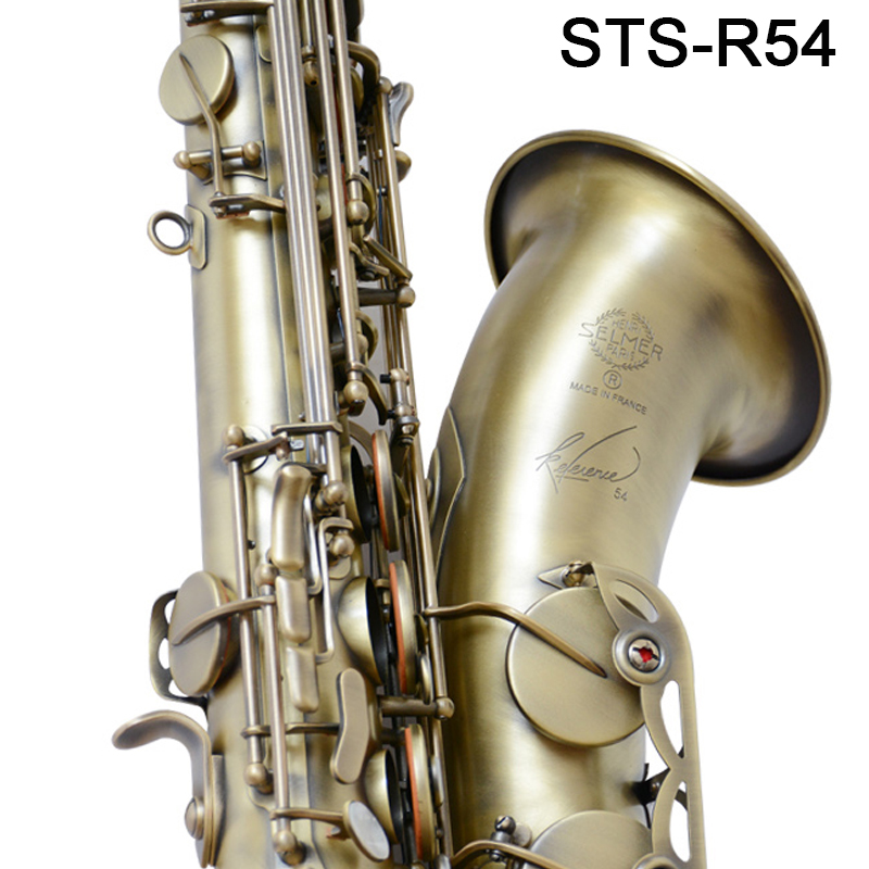Retro Saxophone Tenor Selm STS 54 Bb Flat Antique copper R54 Sax Saxofone Professional musical instrument Accessories mouthpiece купить недорого в Москве