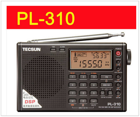 TECSUN PL-310 FM/ AM/ SW/ LW DSP WORLD BAND RADIO PL310 tecsun pl 310 fm am sw lw dsp world band radio pl310