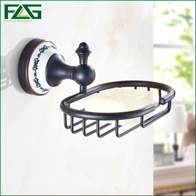 Charmant FLG Fashion Strong Soap Holder Suction Oil Rubbed Bronze Bathroom Shower  Accessory Soap Dish Holder Cup