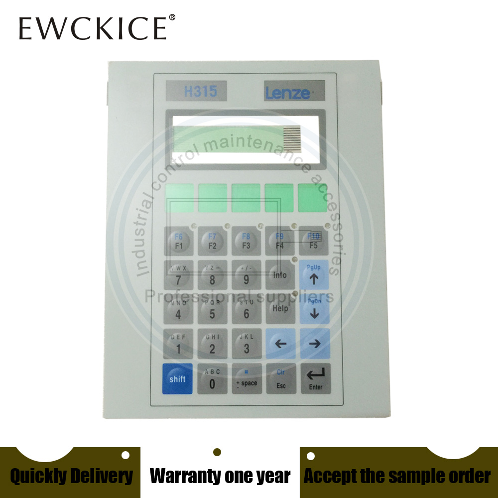 NEW EPM-H315 H315 HMI PLC Membrane Switch Keypad Keyboard Industrial Control Maintenance Accessories