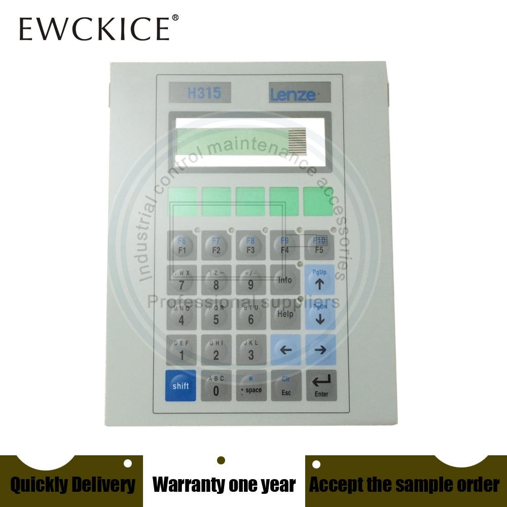 NEW EPM-H315 H315 HMI PLC Membrane Switch Keypad Keyboard Industrial Control Maintenance Accessories