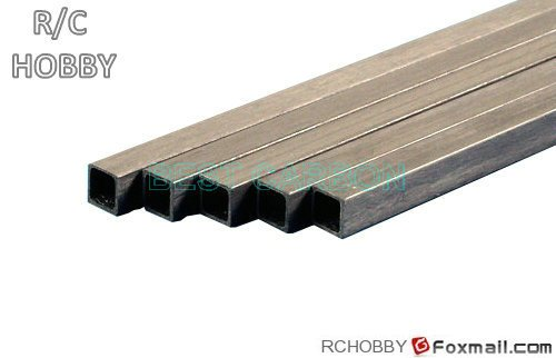 Free shipping 500mm length S-S Pultruded Square Carbon Fiber Tube free shipping 10pcs ch9055a s ch9055c s