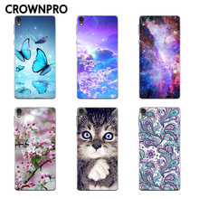 CROWNPRO sFOR Sony E5 Case Cover Painting Soft Silicon TPU P