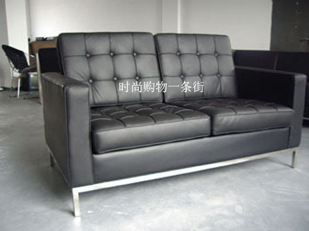 Florence leather sofa 2 seater sofa Italian leather sofa leisure ...