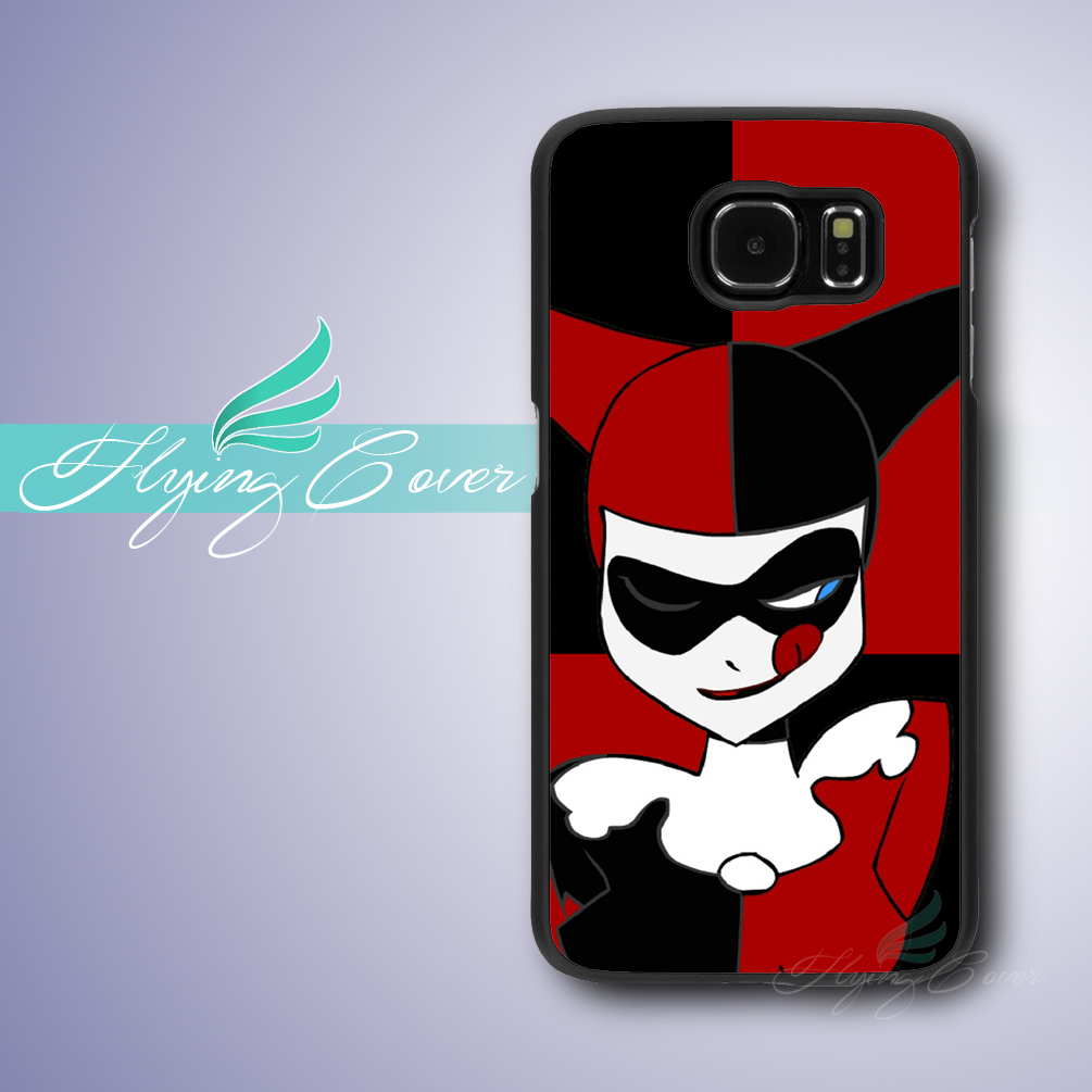 Coque Harley Quinn Cases for Samsung Galaxy S8 Plus S3 S4 S5 S6 S7 Edge  Active Case for Samsung Galaxy Grand Prime Note 8 Cover. b4a62bf96ef0