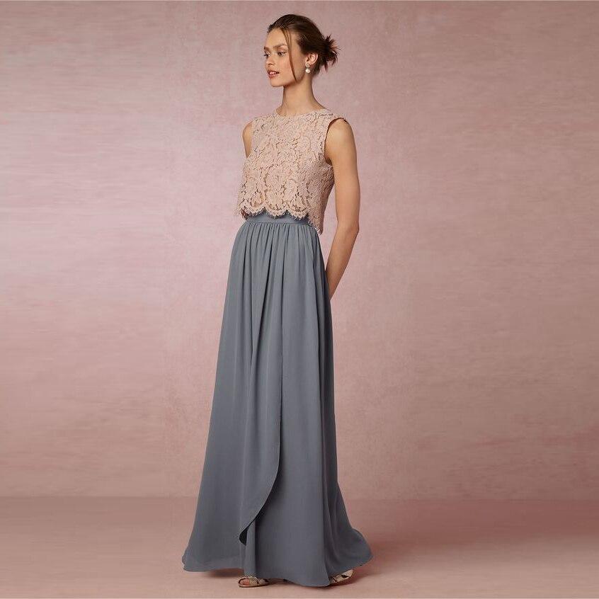 d95130d7c € 31.51 |Faldas elegantes de longitud completa para mujer con cremallera  hecha A medida cintura una línea hasta el suelo Falda larga gris falda de  ...