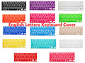Silicone UK EU layout English Keyboard Cover skin Protector Sticker Film For Macbook White Air Pro 13 15 17 for mac book air 13""
