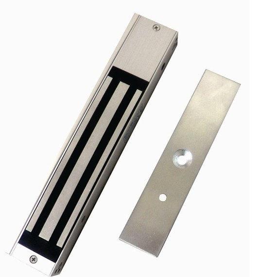 все цены на Access 280KG magnetic lock with signal Com NO, and NC, use for wooden door ,fire door ,Holding Force: 600lbs ,min:1pcs онлайн