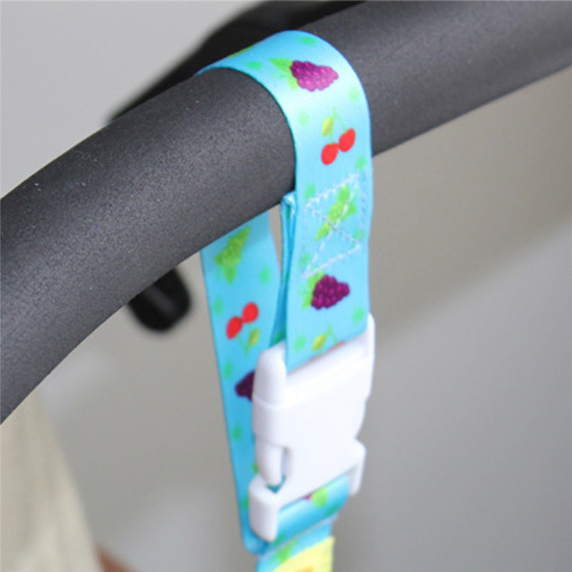 Cute Kids Baby Boy Girl Cartoon Stroller Toy Secure Loss Prevention Button Strap Chain Accessories For Baby 30MY10 (21)