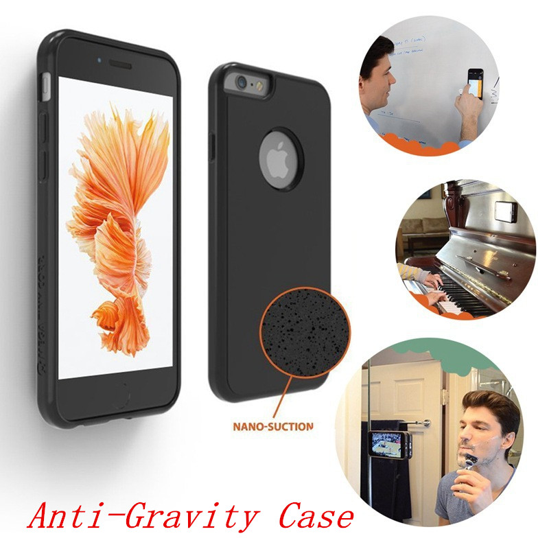 Anti Gravité De Luxe Coque Cas Pour Samsung Galaxy S8 Plus S5 S6 S7 Bord Note 8 4 5 7 Cas Pour Iphone X 7 6 s 6 s 8 Plus 5S couverture
