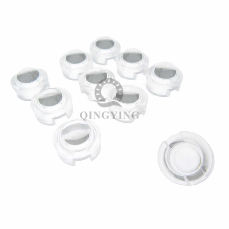 100 Uds 13mm IR LED mini lente 1W 3W 5W 15 30 45 60 90 100 grados No necesita soporte para IR CCTV LED convexo lentes