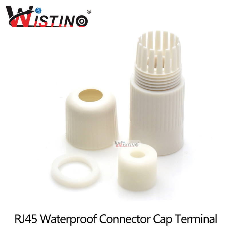 Wistino Cctv Cable Rj45 Connector Cap Terminal Cover Ip