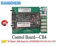 KUANGCHENG MINING Antminer D3 плата управления включает в себя IO плату и BB материнскую плату для ANTMINER D3/A3/L3/L3 +/X3 MINERS