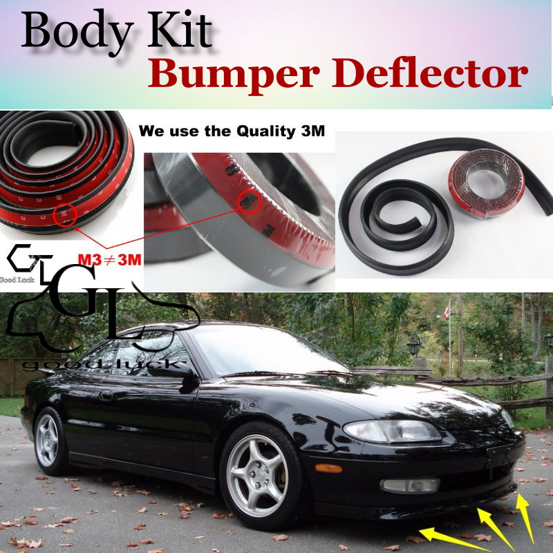 For <font><b>Mazda</b></font> MX-<font><b>6</b></font> MX6 MX <font><b>6</b></font> Mystere Bumper Lip / Front <font><b>Spoiler</b></font> Deflector Scratch Proof Adhesive / Body Kit / Strip Skirt image