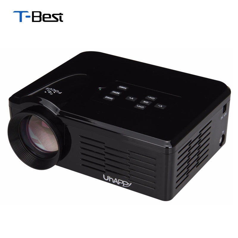 Buy 2015 uhappy bl35 new hd tv home for Best mini projector 2015