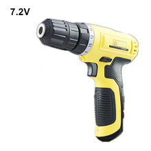 household 7.2v mini rechargeable cordless drill multi-functional electric battery screwdriver tools