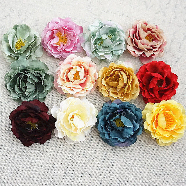 10pcs artificial rose bud