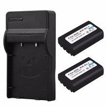 2x1100mAh EN EL1 Battery Charger for Nikon Coolpix 500 775 880 885 990 995 4300 4500