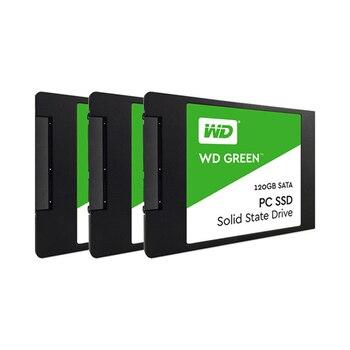 Western Digital WD SSD GREEN PC 120GB Internal Solid State Drive Internal Sabit Hard Disk SATA 6GB/s for LaptopWDS120G2G0 Internal Solid State Drives
