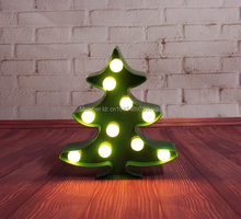 Novelty-LIGHT UP mini  Marquee christmas tree Sign LED neon light Indoor Dorm lighting free shipping