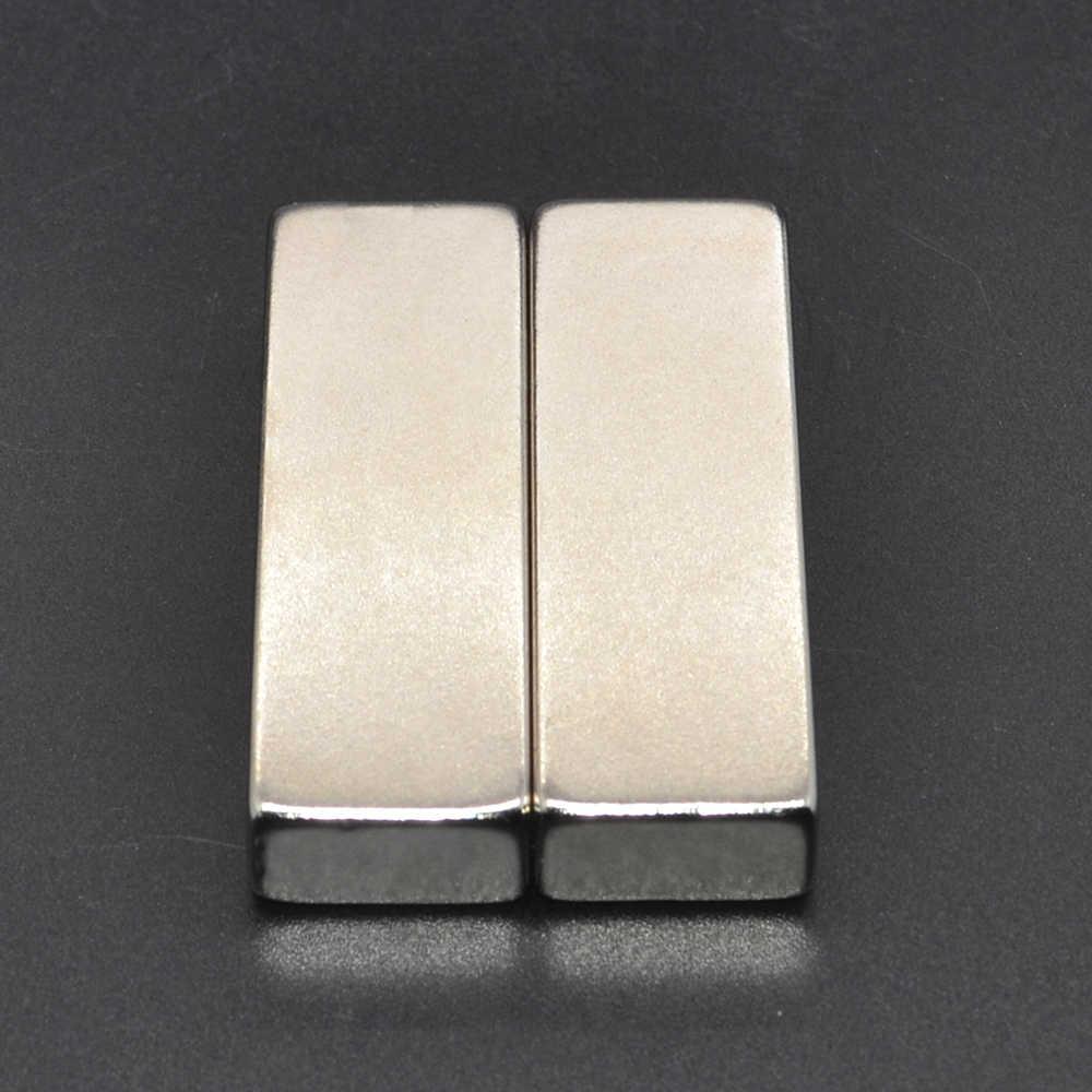 5 uds. 60x20x10mm N50 Super fuerte tierra rara permanente imán potente bloques de imanes de neodimio 60*20*10mm 60x20x10mm