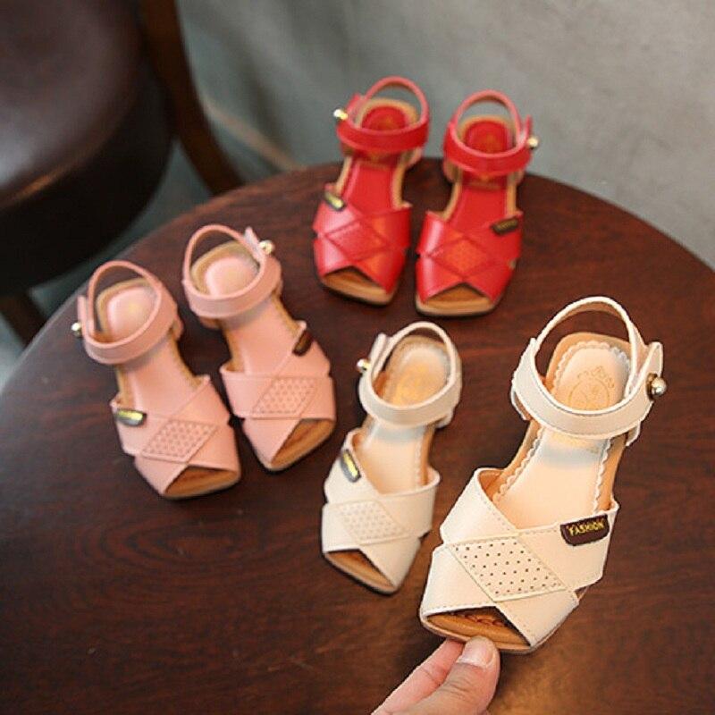 summer baby girls shoes boy sandals 5-12 years old kids summer shoes children sandals student shoe girls sandals 1565