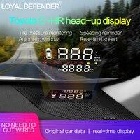 Горячая Распродажа! Специальный Автомобиль HUD Head Up дисплей для Toyota CHR правый руль