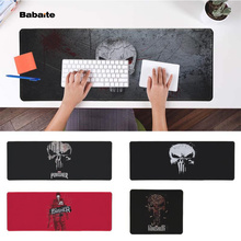Babaite My Favorite arvel Comics Punisher Office Mice Gamer Soft Mouse Pad Free Shipping Large Keyboards Mat