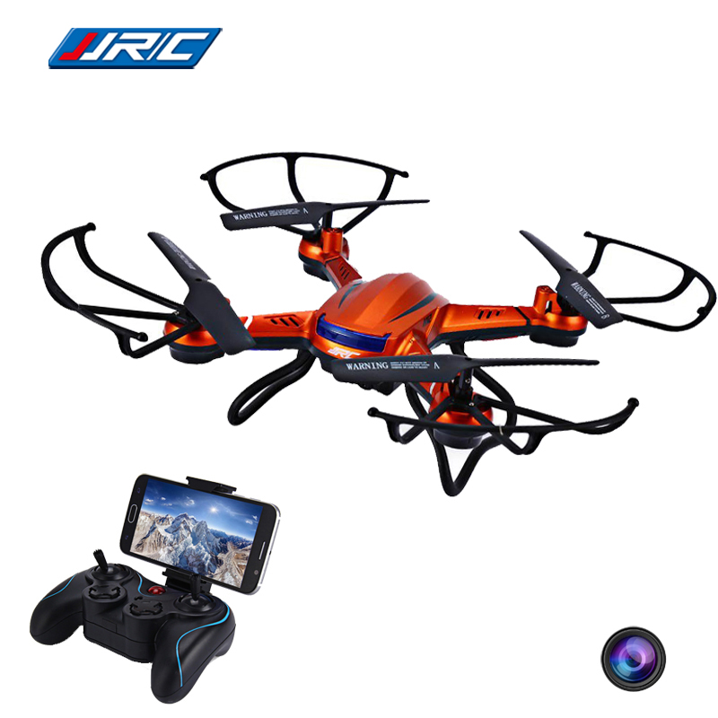 JJRC H12W 2.4G 4CH 6-Axis Gyro Wifi FPV Quadcopter with Headless Mode and 3D Roll Function RC Drone with 2.0MP HD Camera VS X5SW headless mode jjrc h20w hd 2mp camera drone wifi fpv 2 4ghz 4 channel 6 axis gyro rc hexacopter remote control toys nano copters