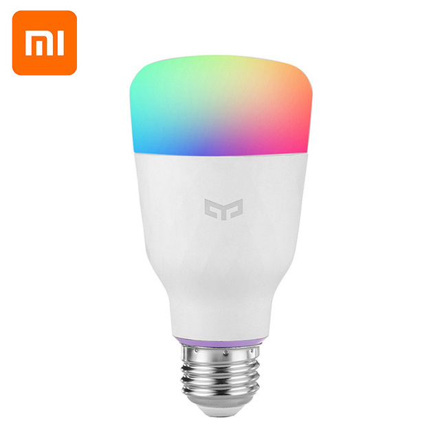 [ English Version ] Mi Yeelight Smart LED Bulb Colorful 800 Lumens 10W E27 Lemon Smart Lamp For Mi Home App White/RGB Option