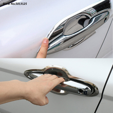For Toyota Camry 2018 2019 2020 ABS Chrome trim Car handle Protective Cover Door Handle Outer Bowls Trim Accessories