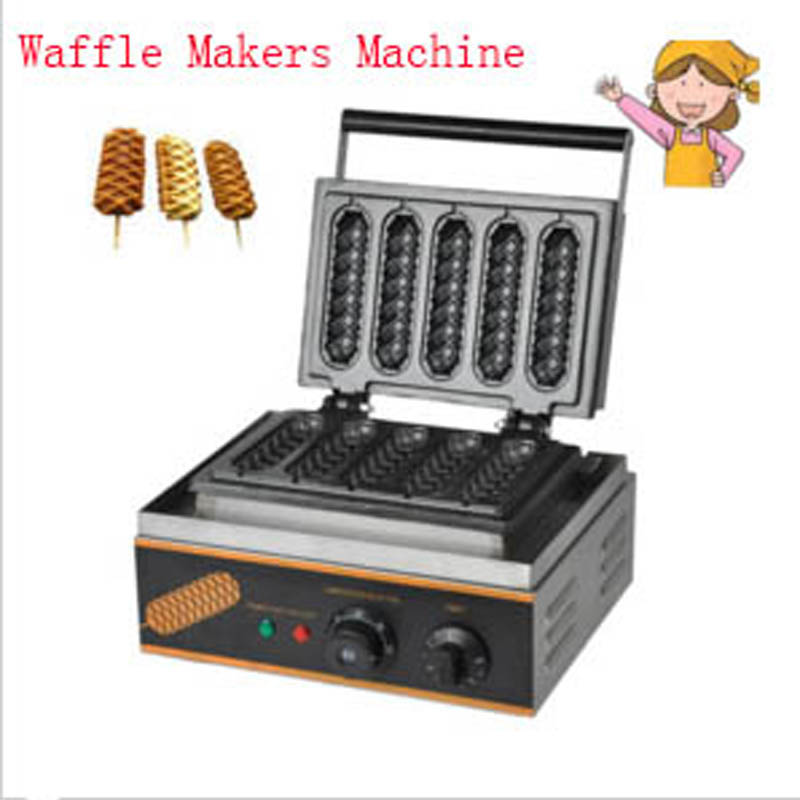 Hot Sale 110V/220V Commercial Use Electric Lolly Waffle Makers Machine FY-2208 недорго, оригинальная цена