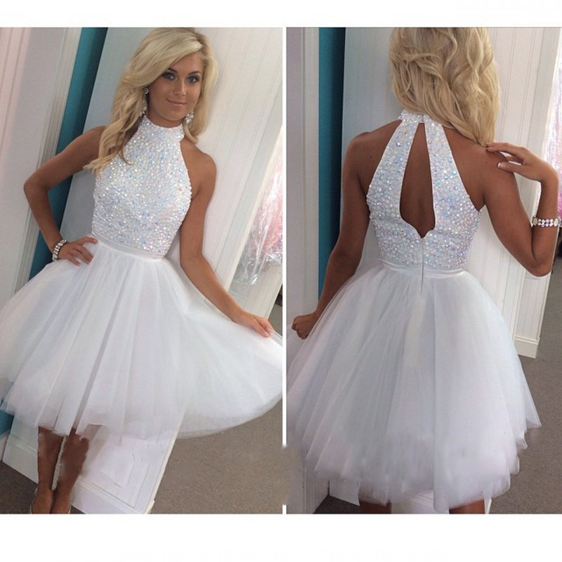 Online Get Cheap Short White Graduation Dress -Aliexpress.com ...