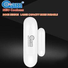 НЕО Coolcam Z-Wave Беспроводной двери/окно Сенсор Совместимость systation смарт с z-wave домашней automarm сигнализации Интеллектуальные детектор