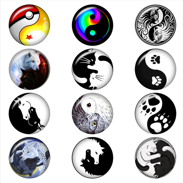 yin yang tree horse