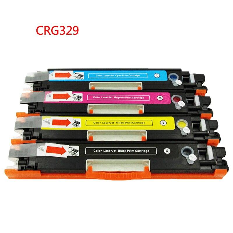 Prix pour CRG 329 CRG 729 Cartouche De Toner Couleur pour Canon LBP7010 LBP-7010C LBP7018 LBP-7018C Compatible Haute Qualité
