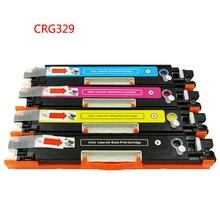 Crg 329 crg 729 cartucho de tóner de color para canon lbp7010 lbp-7010c lbp7018 lbp-7018c compatible de alta calidad