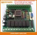 Free Ship 5pcs/lot  PLC industrial control board 51 MCU control board FX1N FX2N AD DA 16MR Programmable control PLC module