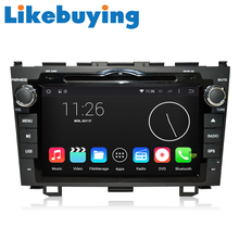 Likebuying  QUAD CORE Car 2 Din 1024*600 16G Android 4.4.4  DVD GPS Radio Stereo Navigator for Honda CR-V  2006-2011
