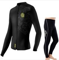Authentic neoprene slinx wetsuit for unisex ,swim in winter clothing surf,5mm jacket and 3mm trousers ,with Chinese dragon