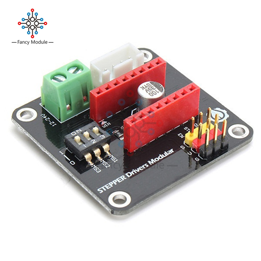DRV8825 A4988 3D Printer 42 Stepper Motor Driver Controller Expansion Shield Module for Arduino UNO R3 Ramps1.4 DC Motor Drivers