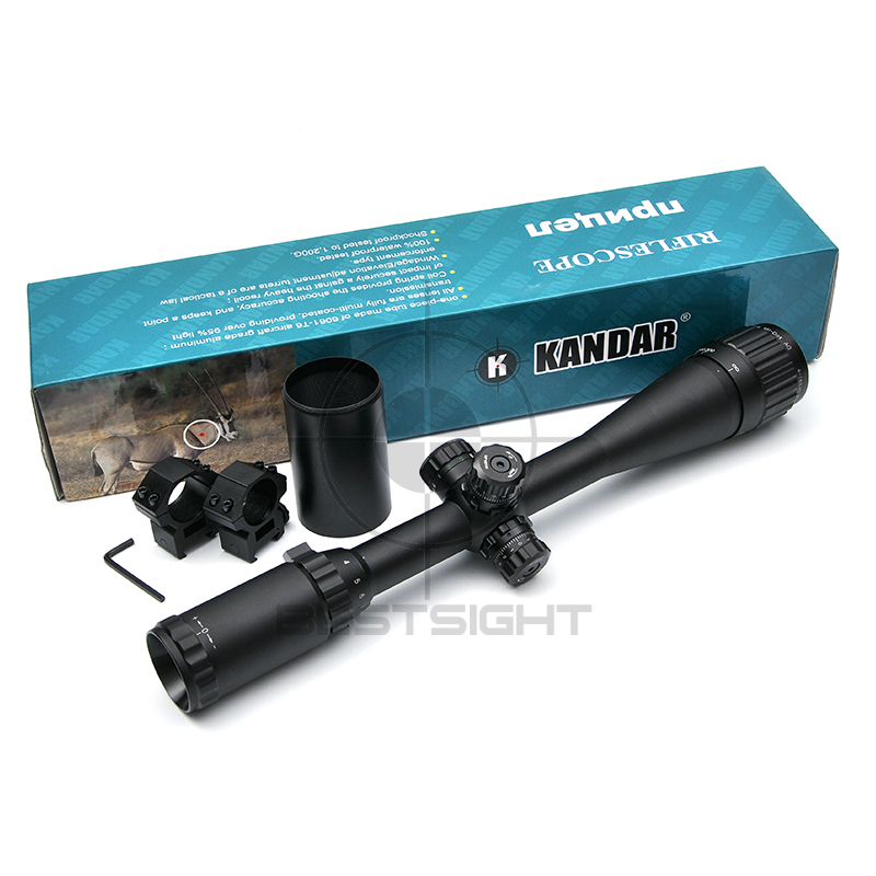KANDAR 4-16X40 Optics Hunting Riflescope Reticle Crosshair Optic Sight Scope Rifle Tactical Scopes For Airsoft Gun Hunting wallpad 118 us au standard crystal glass black wifi fan speed switch wireless remote control wall fan touch switch free shipping