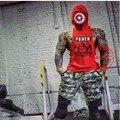 Fashion  Hoodie Muscle Beach Stringer Hoodies Men Clothing Fitness Sleeveless Sweatshirts Clothes Bodybuilding Hoodies