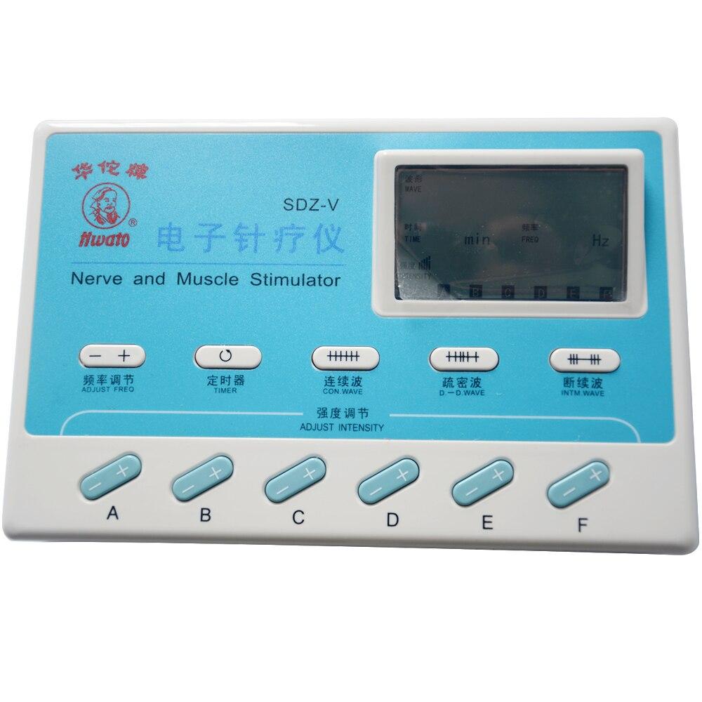6 Oberoende kanaler SDZ-V Elektrostimulator Body Relax Massager Pulse - Sjukvård - Foto 2