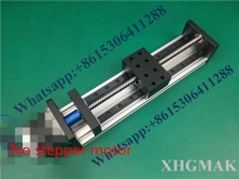 купить High Precision GX80 Ballscrew 1204 200mm 250mm Effective Travel+ Nema 23 Stepper Motor  CNC Stage Linear Motion Moulde Linear по цене 8179.18 рублей