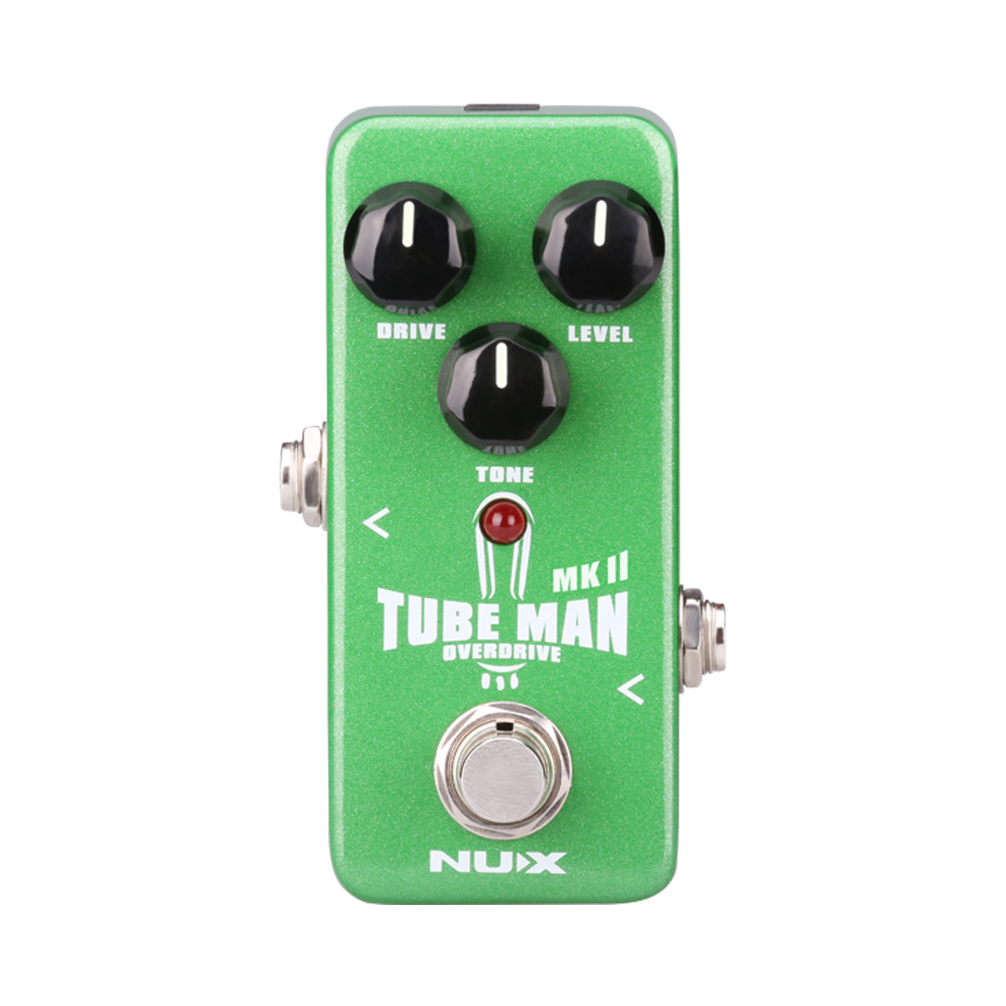 NUX Tube Man MKII Overdrive Guitar Effect Pedal Mini Core Series Stompbox with Tube-like Sound Original Tube Screamer Pedals nux pmx 2 multi channel mini mixer 30