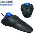 Kensington Original Orbit Trackball Mouse with Scroll Ring Optical USB for PC or Mac K72337 with Retail Packaging