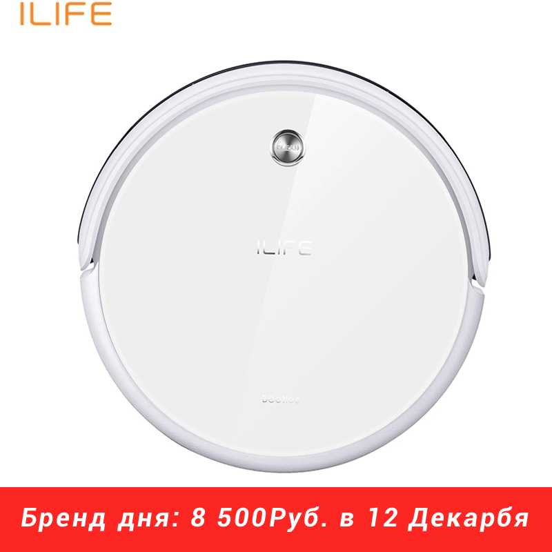 New Robot Vacuum Cleaner iLife A40 for Home Household 450ml Dustbin with Self-recharge Cyclone Vacuums cleaner Dry Mopping