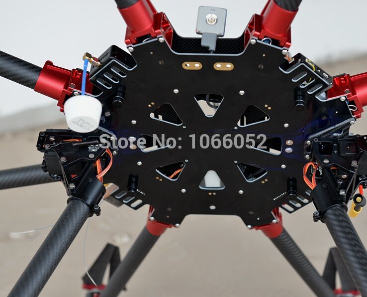 3k 1060mm carbon large scale octocopter kit for professional aerial photographyfpv foldable octocopter frame multicopter frame in parts accessories from